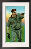 St. Louis, MO, St. Louis Browns, Rube Waddell, Baseball Card Prints