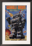 Missile Robot Posters