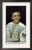 New York City, NY, New York Giants, Arthur Wilson, Baseball Card Print