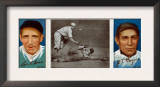 New York City, NY, New York Giants, Leon Ames, John T. Meyers, Baseball Card Print