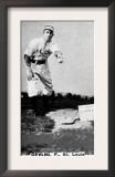 St. Louis, MO, St. Louis Browns, J. Devlin, Baseball Card Print
