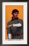St. Louis, MO, St. Louis Browns, Danny Hoffman, Baseball Card Poster