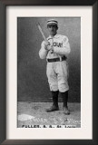 St. Louis, MO, St. Louis Browns, Shorty Fuller, Baseball Card Art