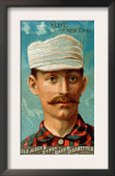 New York City, NY, New York Giants, Tim Keefe, Baseball Card Art
