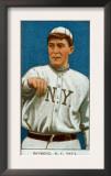 New York City, NY, New York Giants, Bugs Raymond, Baseball Card Print