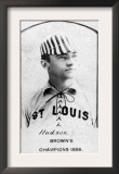St. Louis, MO, St. Louis Browns, Nat Hudson, Baseball Card Posters