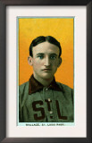 St. Louis, MO, St. Louis Browns, Bobby Wallace, Baseball Card Prints