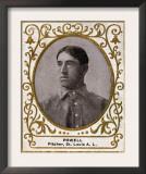 St. Louis, MO, St. Louis Browns, Jack Powell, Baseball Card Art