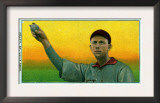 St. Louis, MO, St. Louis Browns, Barney Pelty, Baseball Card Art