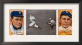Brooklyn, NY, Brooklyn Dodgers, William Dahlen, Zach D. Wheat, Baseball Card Art