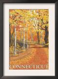 Connecticut, Fall Colors Scene Prints