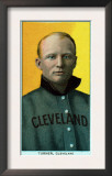 Cleveland, OH, Cleveland Naps, Terry Turner, Baseball Card Posters