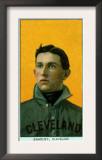 Cleveland, OH, Cleveland Naps, Bill Bradley, Baseball Card Print