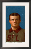 St. Louis, MO, St. Louis Browns, Rube Waddell, Baseball Card Print