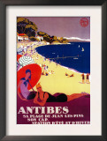 Antibes Vintage Poster - Europe Posters