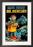 Battery Operated Remote Control Mr. Mercury Prints