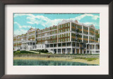 Groton, Connecticut, Exterior View of the Eastern Point of Griswold Hotel Posters