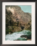Ogden Canyon, Utah, View of the First Bridge Prints