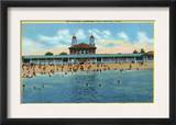 Stamford, Connecticut, View of the Cummings Park Pavilion Art