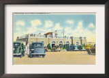 Narragansett, Rhode Island, View of Scarborough State Beach Prints