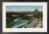 New Haven, Connecticut, A Rustic View from East Rock Park Prints
