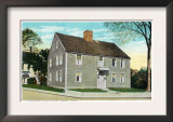 Groton, Connecticut, Exterior View of Ye Ebenezar Avery House Posters