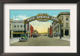 Rock Springs, Wyoming, View of the Rock Springs Welcome Arch Print