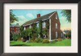 New London, Connecticut, Exterior View of the Hempstead House Print