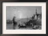 Quebec, Canada, Boating Scene on the St. Lawrence River near Montreal Art