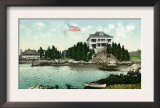 Narragansett, Rhode Island, Bay View of the Squantum Club Prints