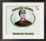 Sherlock Holmes Brand Cigar Box Label Print