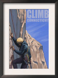 Connecticut, Rock Climber Posters