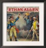 Ethan Allen Brand Cigar Box Label Art