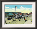 Newport News, Virginia, General View of the Shipyard Entrance Prints