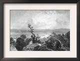Massachusetts, Panoramic View of Connecticut River Valley from Mt Holyoke Prints