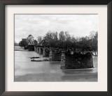 Richmond, VA, Ruins of Mayo's Bridge, Civil War Posters