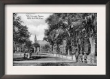 New Haven, Connecticut, View of Yale University Campus Prints