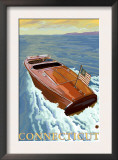 Connecticut, Chris Craft Boat Prints