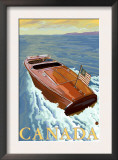Canada, Chris Craft Boat Prints