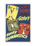 Goofy Gymnastics Prints