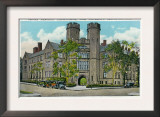 New Haven, Connecticut, Exterior View of Osborn Memorial Labs, Yale University Art