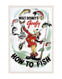 How to Fish Affiches