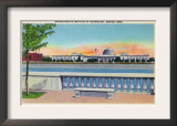 Boston, Massachusetts, Panoramic View of MIT Campus Prints
