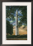 Washington DC, Exterior View of the Washington Monument Prints