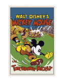 Touchdown Mickey Affiches