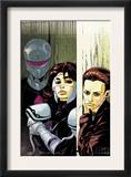 The Loners 5 Cover: Turbo, Urich, Phil and Darkhawk Posters by Karl Moline