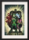 Exiles 2 Cover: Polaris, Scarlet Witch and Blink Posters by Dave Bullock