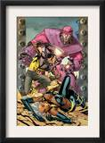 Ultimate X-Men 85 Cover: Storm, Wolverine and Sentinel Posters by Yanick Paquette
