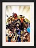 The Order 1 Cover: Anthem, Calamity, Supernaut, Veda, Mulholland and Aralune Prints by Barry Kitson