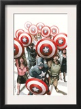 Captain America: The Chosen 6 Cover: Captain America Prints by Mitchell Breitweiser